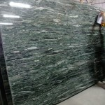 Green Granite Slab