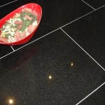 Polished Black Granite